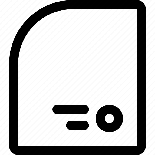 avatar, data, document, file, report, user icon