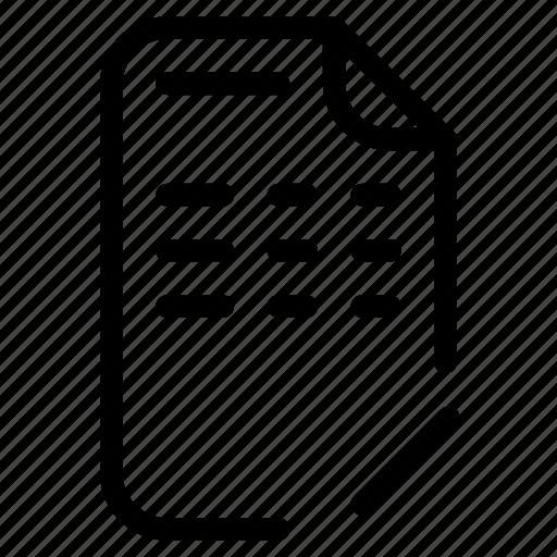 document, edit, redaction icon