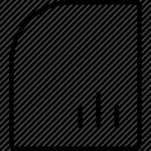 analytics, data, document, file, insight, report icon