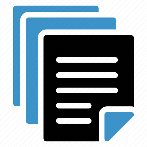 book, extension, file, txt icon