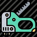 craft, equipment, gun, office, staple icon