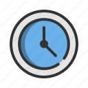 business, clock, management, marketing, office, time, timer icon