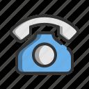 business, communication, marketing, office, phone, telephone, work icon