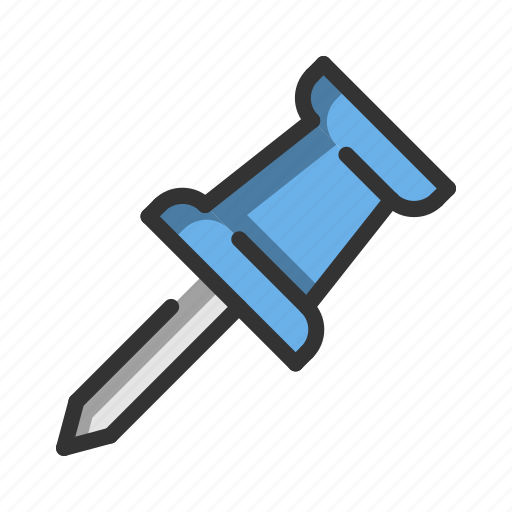 Business, document, file, office, pin, stationery, work icon - Download on Iconfinder