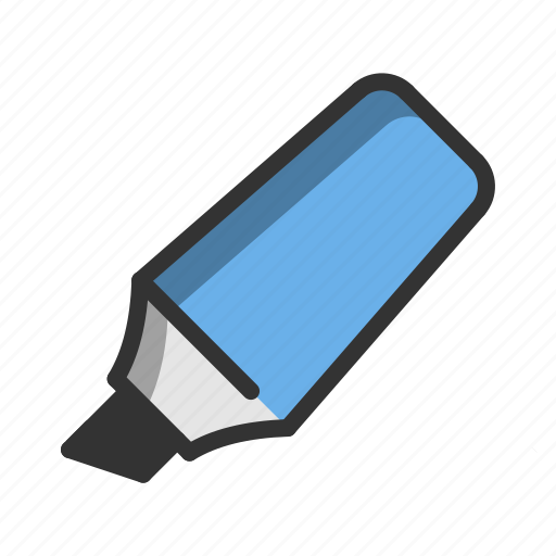 Business, management, marker, marketing, office, pen, work icon - Download on Iconfinder