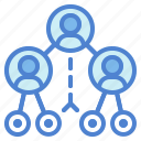 circles, connector, media, network, networking, social icon