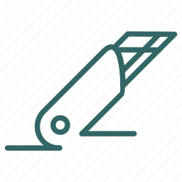 blade, cutter, office, razor, sharp icon