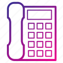 call, equipment, office, phone, telephone icon