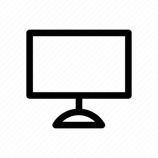 device, element, monitor, office, tv icon