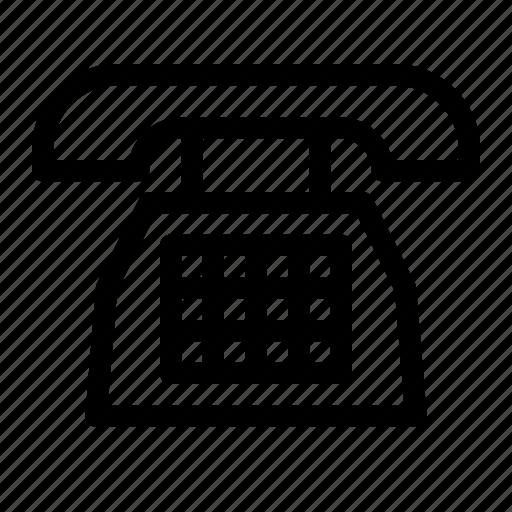 device, element, office, phone, telephone icon