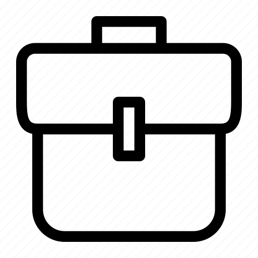 bag, device, element, office, suitcase, work luggage icon