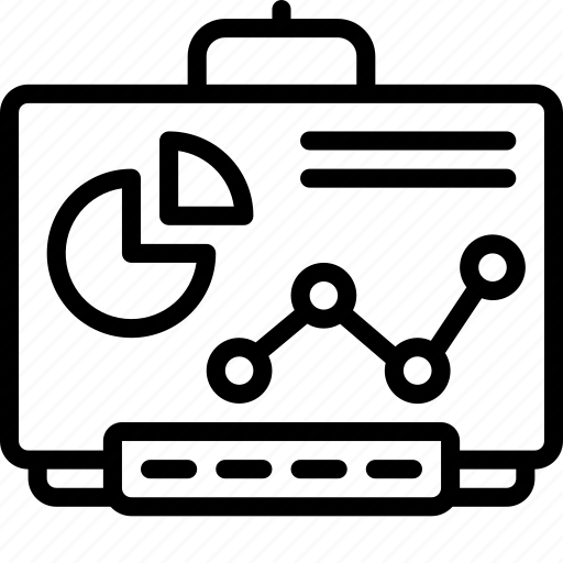 board, equipment, office, smart, smartboard icon