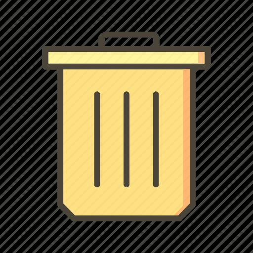 delete, erase, trash icon