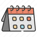 administration, calendar, calendars, date, organization, schedule, time icon