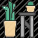 botanic, flower, flower pot, gardening, nature, plant, pot icon