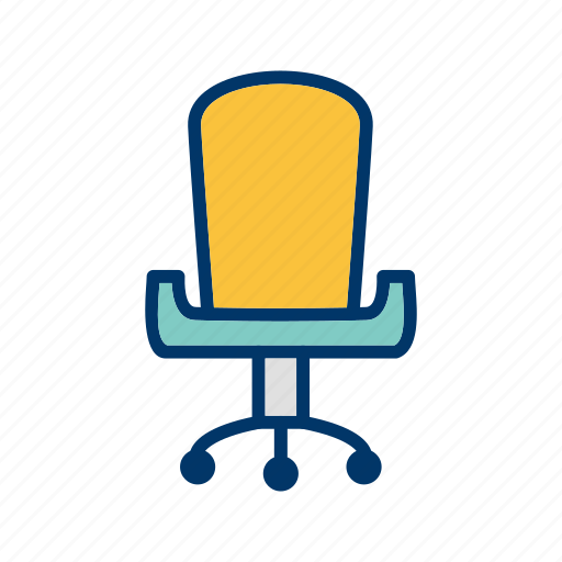 business, chair, seat icon