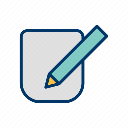 corrector, draw, edit icon