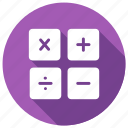 accounting, calculate, calculator, finance icon