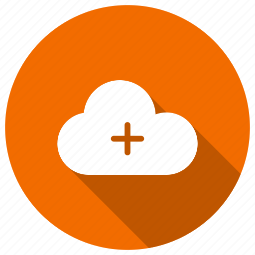 add, cloud, cloudcomputing, plus icon
