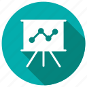 analytics, business, chart, graph icon