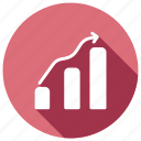 analytics, finance, infographic, statistics icon
