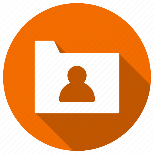archive, folder, shared, user icon
