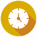 alarmclock, clock, timer, wallclock icon