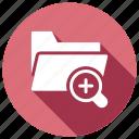 explorer, find, folder, search icon