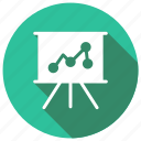 analytics, file, graph, presentation icon
