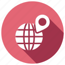global, international, location, worldwide icon