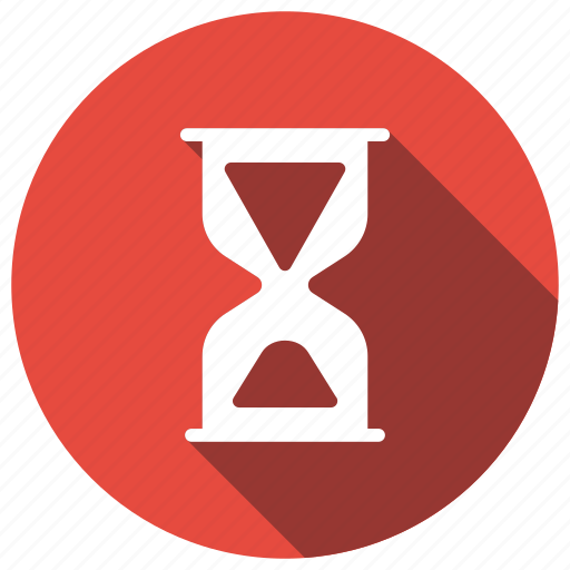 clock, hourglass, schedule, timer icon