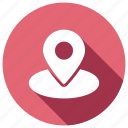 locate, location, map, pin
