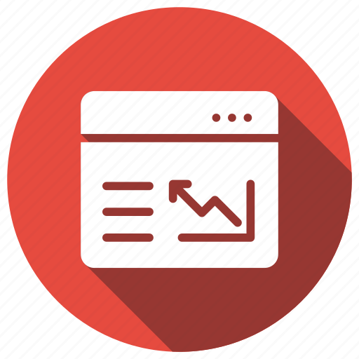 graph, onlinereport, reporting, web icon