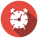 alarm, clock, notification, watch icon