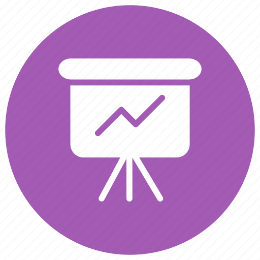 board, chart, education, graph icon