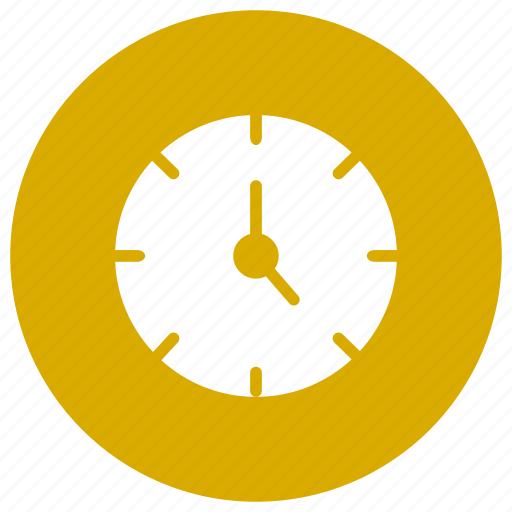 alarmclock, clock, timer, wallclock icon