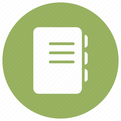 Book, contact, phone, phonebook icon - Download on Iconfinder