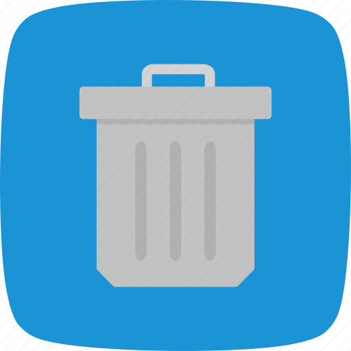delete, dustbin, trash icon