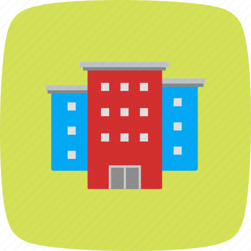 buildings, house, office icon