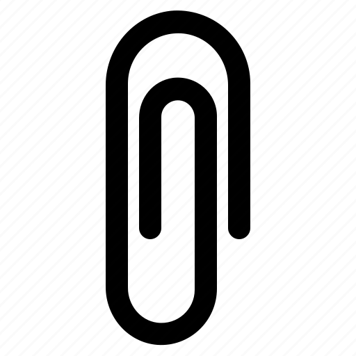 clip, clipping paper, office, paperclip icon