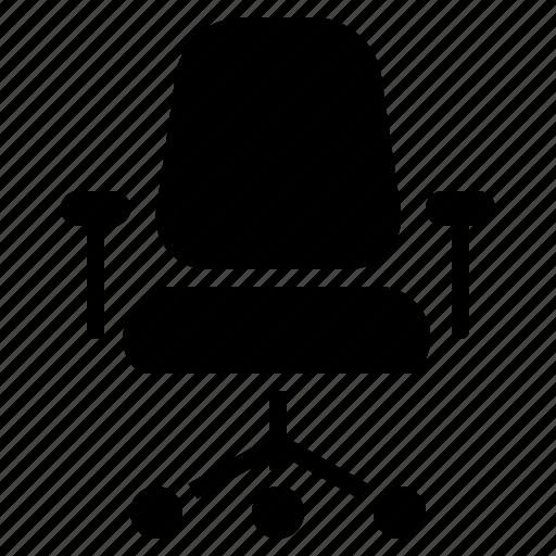 chair, office, office chair, office seat, seat, sitting, sitting chair icon