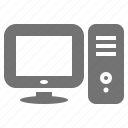 computer, desktop, display, monitor, pc, screen, work station icon