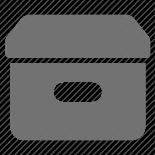 archive, box, container, document, file, storage icon