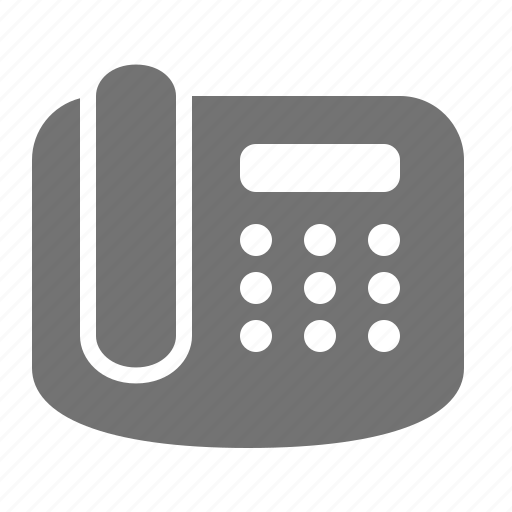 business, call, communication, contact, landline, office, phone icon