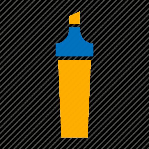 bullet, handle, highlighter, marker, token icon