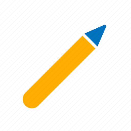 crayon, pen, pencil icon