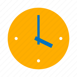 clock, hour, time, timepiece, timer, watch, while icon