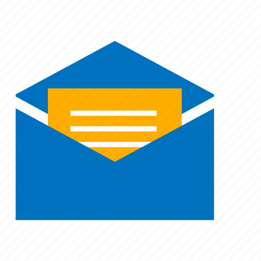e-mail, email, letter, mail, message, writing icon