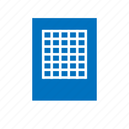 chart, excel, sheet, spreadsheet, table, tabulation icon