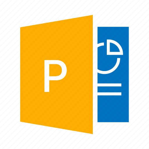chart, infographic, microsoft powerpoint, powerpoint, presentation icon